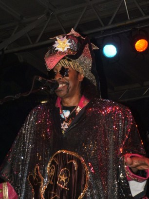 Bootsy Performing NAMM Convention 2012