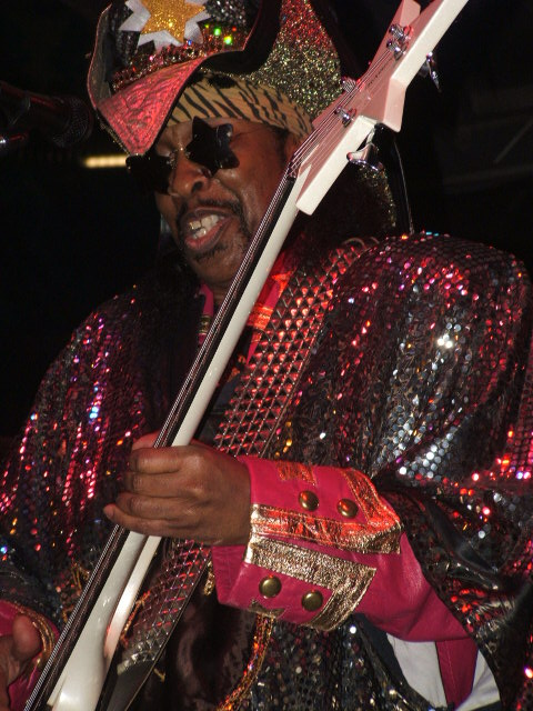 Bootsy Performing NAMM Convention2012