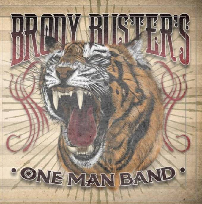 BRODY BUSTER ONE MAN BAND CD COVER ART