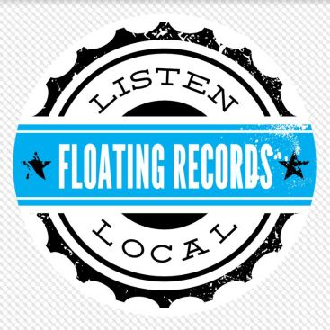 FLOATING RECORDS LISTEN LOCAL LOGO