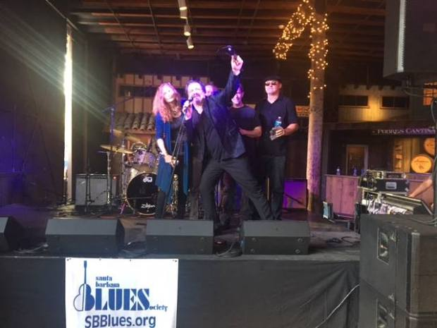 PARADISE KINGS WINNING SANTA BARBARA BATTLE OF THE BLUES BANDS