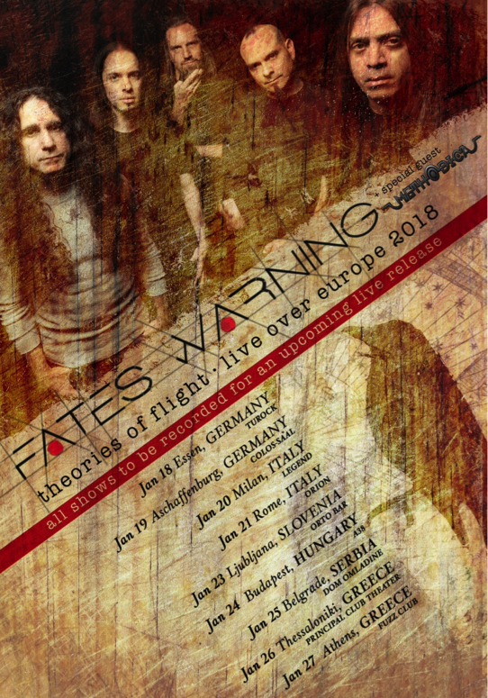 fates warning tour