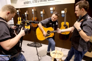 ANAHEIM, CA - JANUARY 24: A general view of atmosphere at The NAMM Show Media Preview Day at Anaheim Convention Center on January 24, 2018 in Anaheim, California. (Photo by Jesse Grant/Getty Images Getty Images for NAMM)