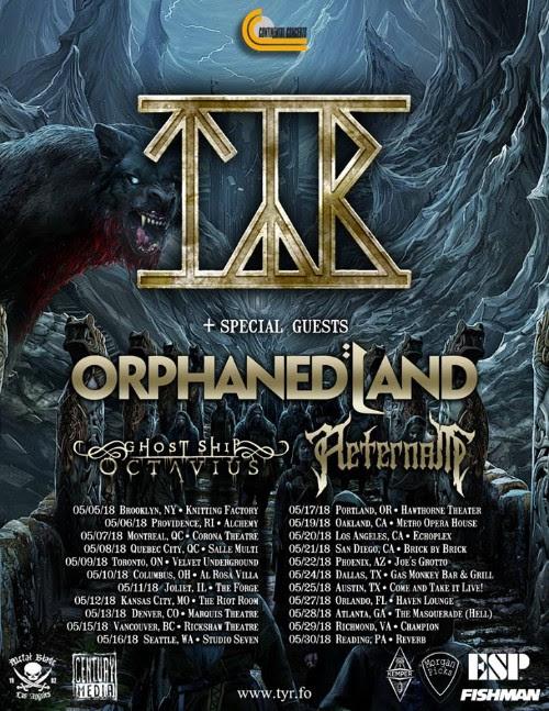 orphanland tour