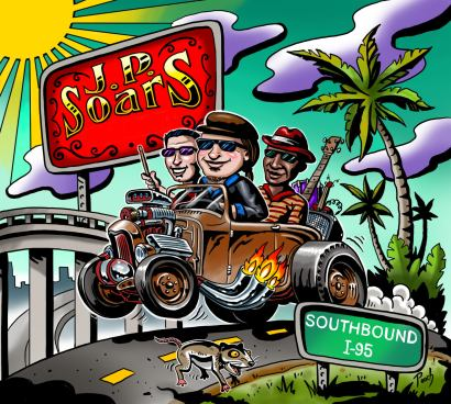 JP SOARS SOUTHBOUND 1-95 CD COVER ART
