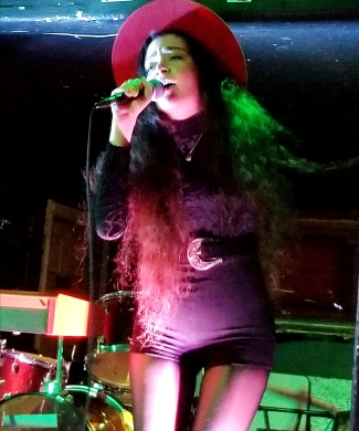 sofia onstage