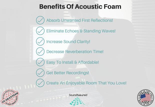 benefits of acoustic foam