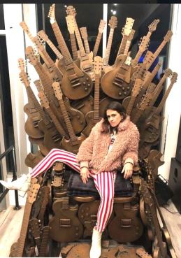 nesa blay in the throne