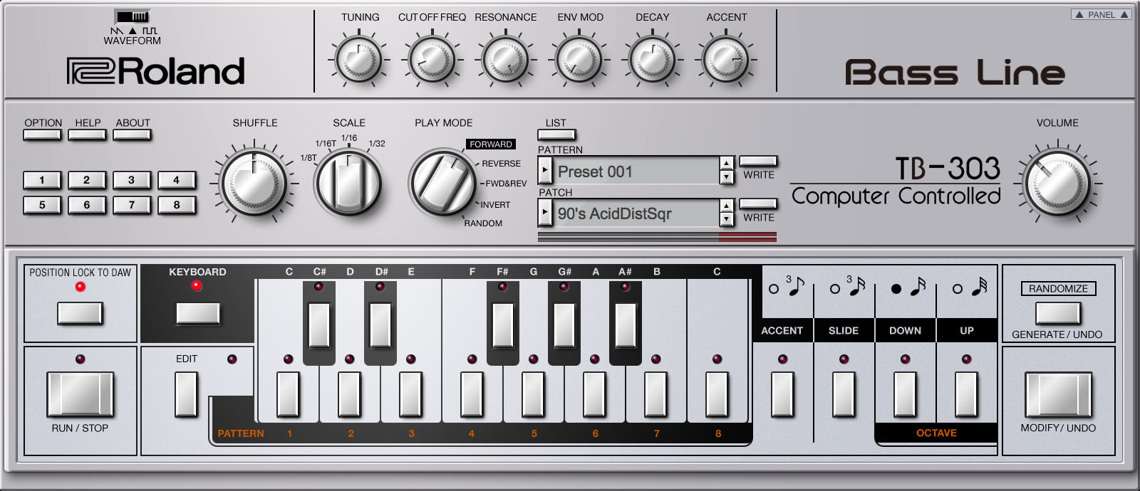 Roland Cloud Adds Roland TB-303 Software Bass Synthesizer to