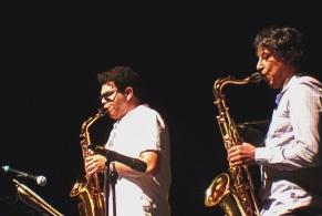 Gerry Lopez and Eleazar at Ajijic. 8.15.19