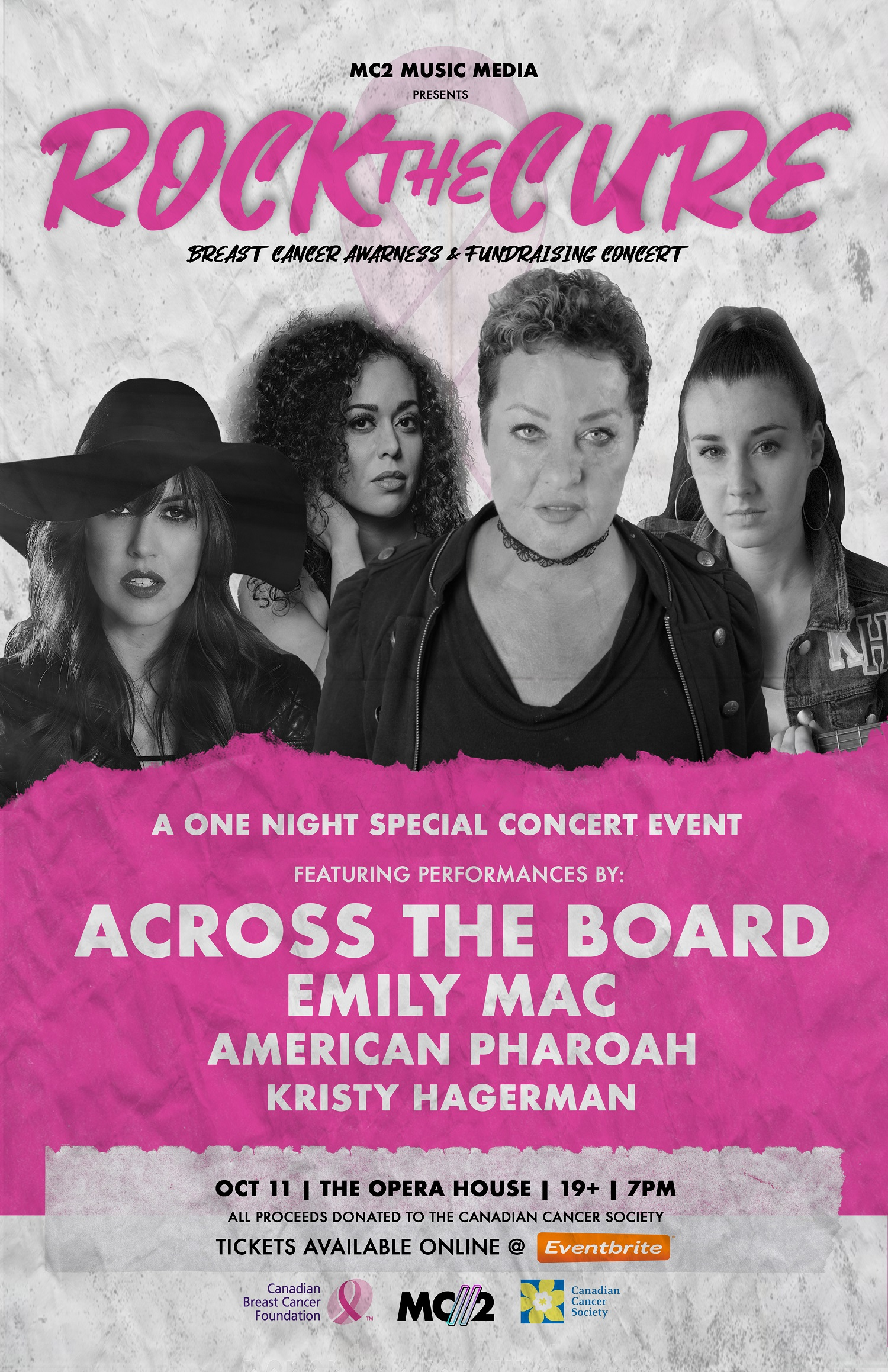 """Breast Cancer Survivor And Band Headline """"Rock The Cure"""