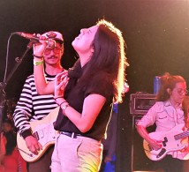 lucky girl gets to sing with Caloncho